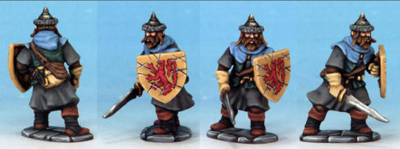 Prize Draw 2: This will be drawn from the names of people who have ordered in weeks 1 and 2 (3rd October - 17th October) and the prize will be a Frostgrave Man-at-Arms Soldier painted by our Kev Dallimore.