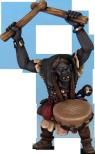 OAK103 - Great Goblin, Shaman, Drummer