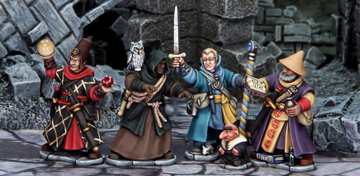 Frostgrave Wizards
