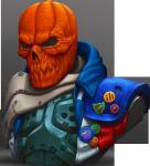 Photo of Halloween Jack Bust  (DSLAHJ001m)