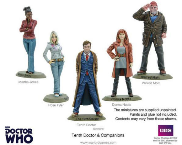 Photo of 10th Doctor and Companions (WG-602210010)