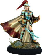 Photo of Female High Elf Warrior with Sword and Shield (DSM7414)