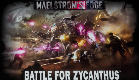 Battle for Zycanthus (Sci Fi Game)