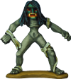 Bukwus miniature, the evil Water Spirit featured in 'Hunting Grounds'.