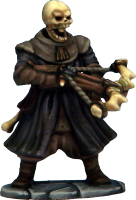 And as an extra bonus, the Cultist plastic frame includes heads and arms to convert your Soldiers or Cultists into skeletons and Zombies. True Frostgrave Undead! Perfect to represent your 'risen from the dead' ex-soldiers.