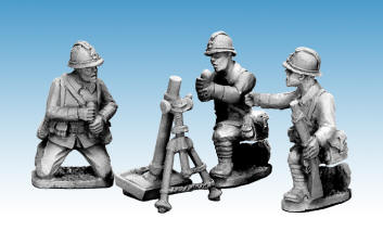 Photo of Dragon Portes 80mm Mortar & Crew (WWF082)