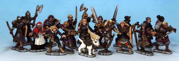 Get the Frostgrave Females now!
