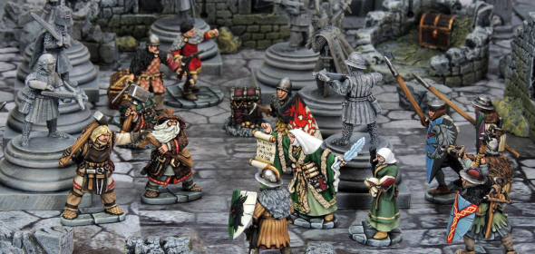 FROSTGRAVE Fantasy Wargames in the Frozen City