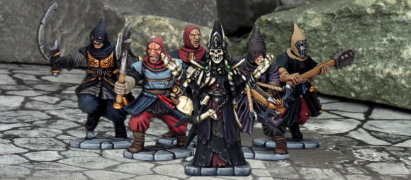 Lich Lord and his Cultists