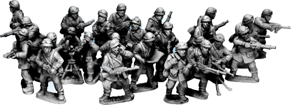 The new French Dragon Portes will be ready to order by the next newsletter (group picture). This are creating quite a buzz amongst WW2 players, look out for a Platoon deal on the launch of them.