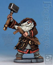 Enchanter. Designed by Mark Copplestone, painted by Kev Dallimore. Metal figure designed for use in the game Frostgrave.