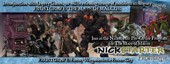 NICKSTARTER FOR MAZE OF MALCOR