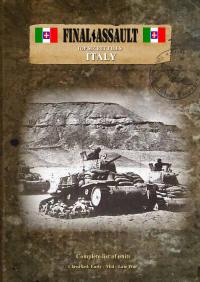 Italian Army lists