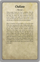 Ulterior Motive cards