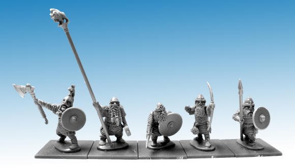 New plastic figures coming soon from North Star and Osprey Games. New figures for a new game, we'll share more information later.