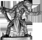 Metal snakeman