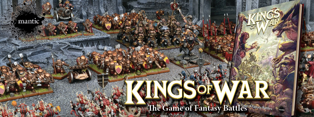 Mantic Games - Kings of War The Game of Fantasy Battles