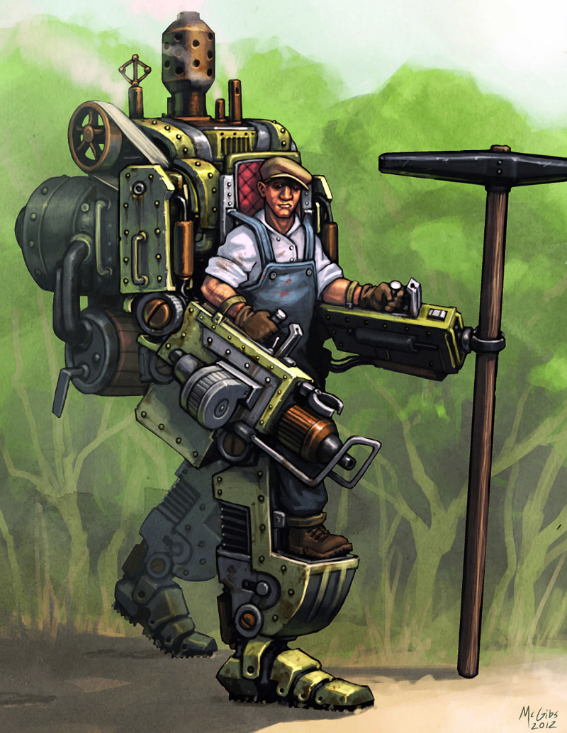 [Steampunk] Soldats Steampunk OWG3_Art1