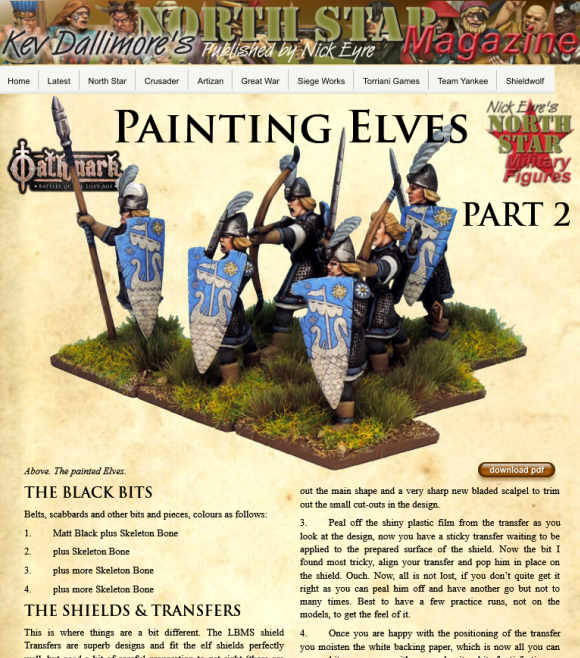 Kev's How to paint Elves part 2