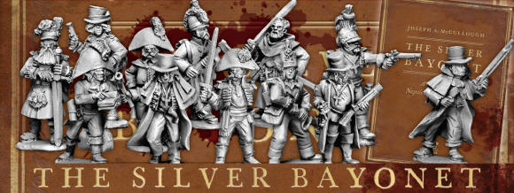 The Silver Bayonet A WARGAME OF NAPOLEONIC GOTHIC HORROR