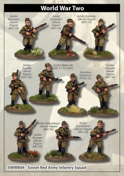 Photo of Soviet Red Army Squad (SWWB04)