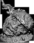 Photo of Frostgrave:The treasure token is the Songbird
