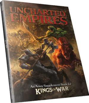 Photo of KINGS OF WAR: UNCHARTED EMPIRES (BP1506)