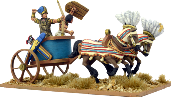 The Egyptian Pharaoh in Chariot