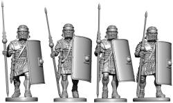 Photo of Early Imperial Roman Legionaries Advancing (VXA025)
