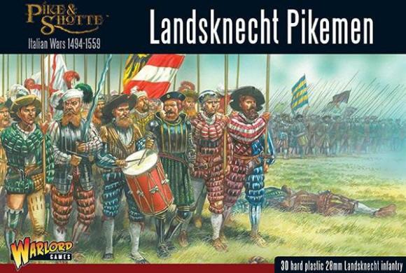 Photo of Landsknechts Pikemen (plastic) (202016001)