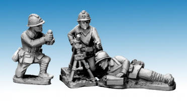Photo of Dragon Portes 60mm Mortar & Crew (WWF081)