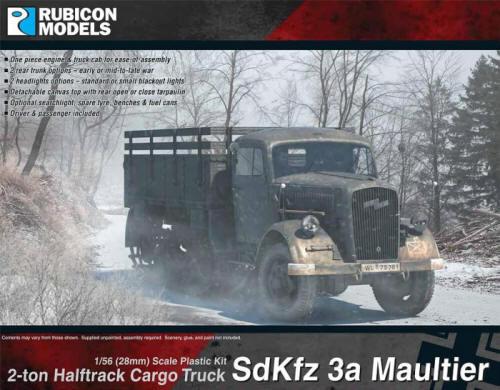 Photo of SdKfz 3a Maultier 2 ton Half-Track Cargo Truck  (RU-280046)