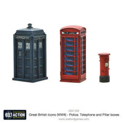 Photo of Great British Icons (WWII) - Police, Telephone and Pillar boxes (403211002)