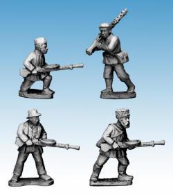 Photo of Partisans with Light Machine Guns (WWP053)