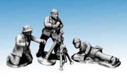 Photo of Partisans firing mortar. (WWP061)