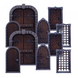 Photo of Dungeon Doors Pack (MGDS15)