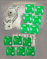 Photo of Dracula's America Dice Set (6xD6, 6xD8, 6xD10) (DRACDICE)