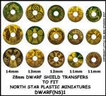 Photo of Dwarf Shield Transfers 1 (DWARF(NS)1)