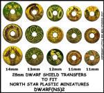 Photo of Dwarf Shield Transfers 2 (DWARF(NS)2)