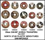 Photo of Dwarf Shield Transfers 3 (DWARF(NS)3)