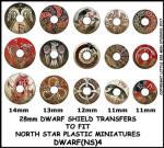 Photo of Dwarf Shield Transfers 4 (DWARF(NS)4)