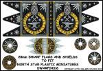 Photo of Dwarf Flag and Shields 2 (DWARF(NS)6)