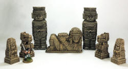 Photo of Totems, Idol and Statues Pack.  (GA-SET02)