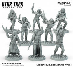 Photo of STAR TREK ADVENTURES MINIATURES: KLINGON WARBAND (MUH051081)