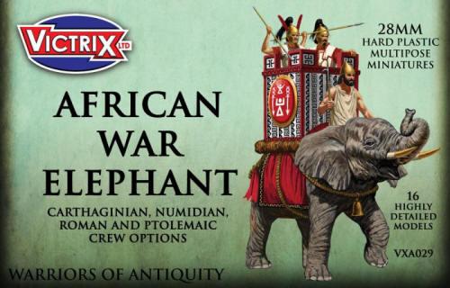 Photo of African War Elephant (VXA029)