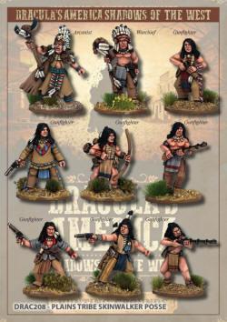 Photo of Plains Tribe Skinwalker Posse (Drac208)