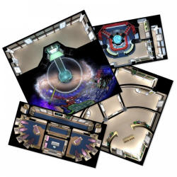 Photo of Star Trek Adventures: The Next Generation Starfleet Deck Tiles (MUH051076)