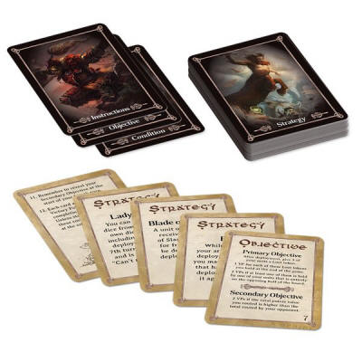 Photo of KINGS OF WAR BATTLEFIELD CARDS (KoWBC)