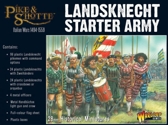 Photo of Plastic Landsknechts starter army (209916002)