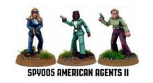 Photo of American Agents II (3) (SPY005)